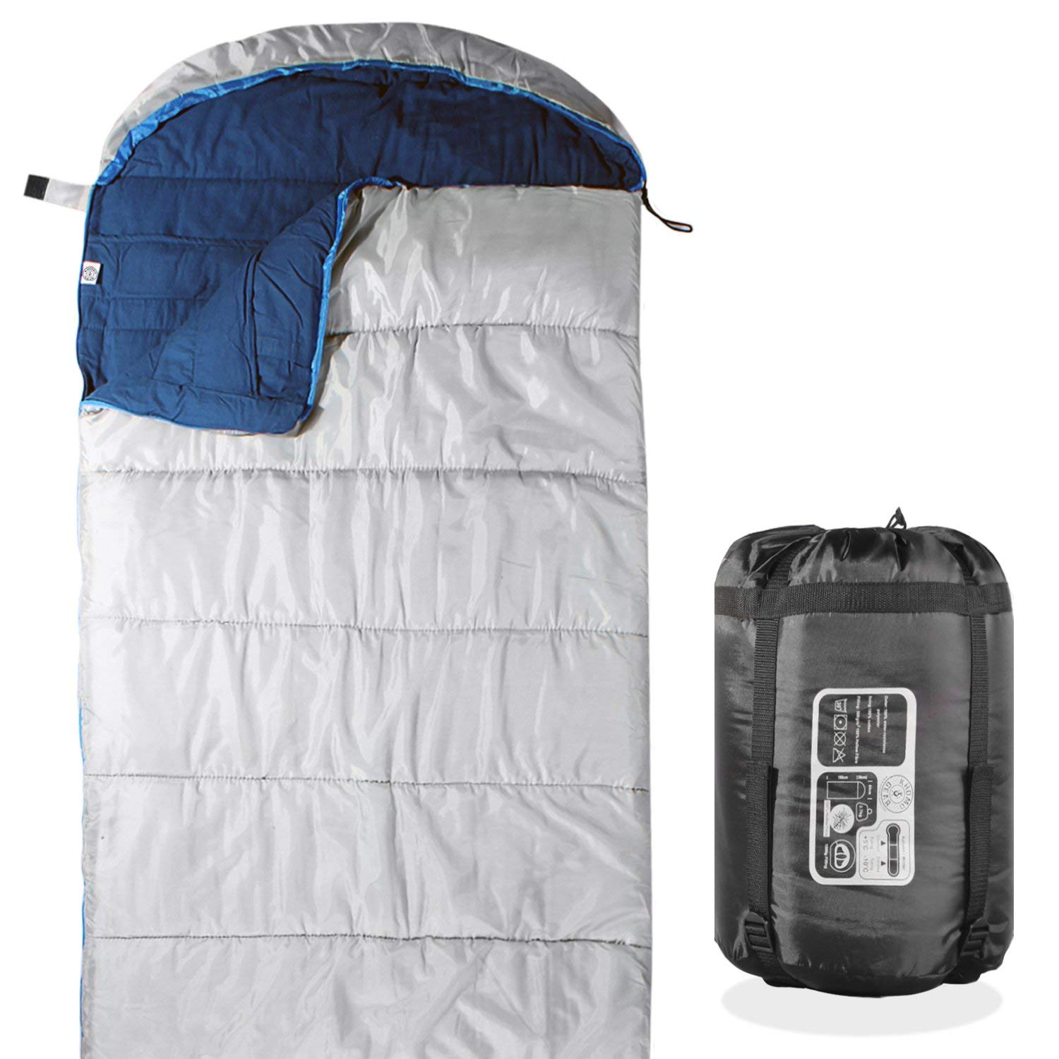KHOMO Camping GEAR - Compression Activities 3 Season - Sleeping Bag for Hiking Camping & Outdoor Activities - Compression Bag Included [並行輸入品] B07R3Y4ZH3, Rash:5e02cd84 --- anime-portal.club