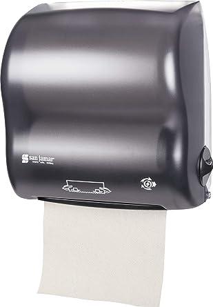 San Jamar t7500tbk Compact Simplicity manos libres dispensador de toalla de rollo de mecánico, Classic