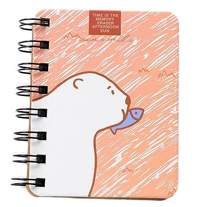 Gespout Cuaderno Notas Infantil Papelería Libreta Papel ...