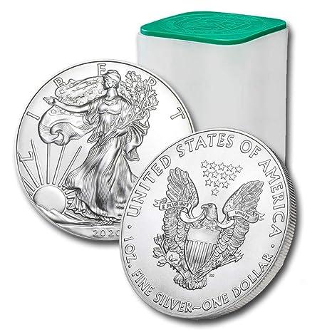 2016 Silver Eagle Fresh Out Of Tube .999 1 OZ