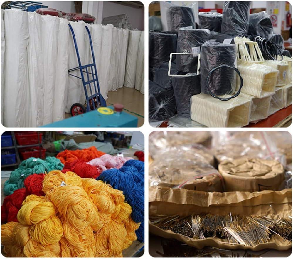 Proumhang 14 CT Kits de bordado de bricolaje Mantel de bordado de punto de cruz 2 hilos Aida Canvas Blanco 27x23cm Tienda de juguetes de Navidad