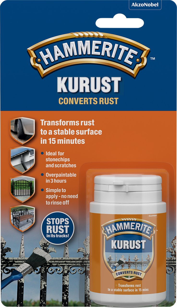 Hammerite 5092820 Kurust, 250 ml Hammerite Products ICI Ltd. B004Z4UMUA