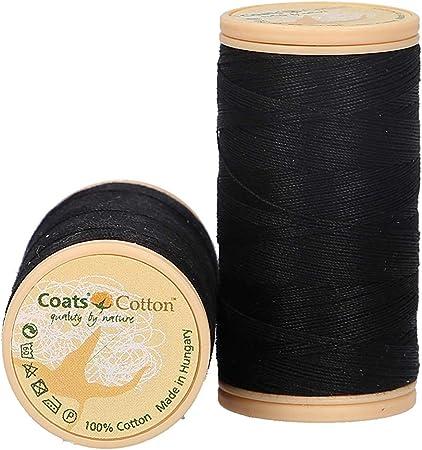 MEZ 4661050 – 09750 hilo, algodón, color negro: Amazon.es: Hogar