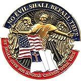 No Evil Shall Befall Thee Christian Lapel Pin
