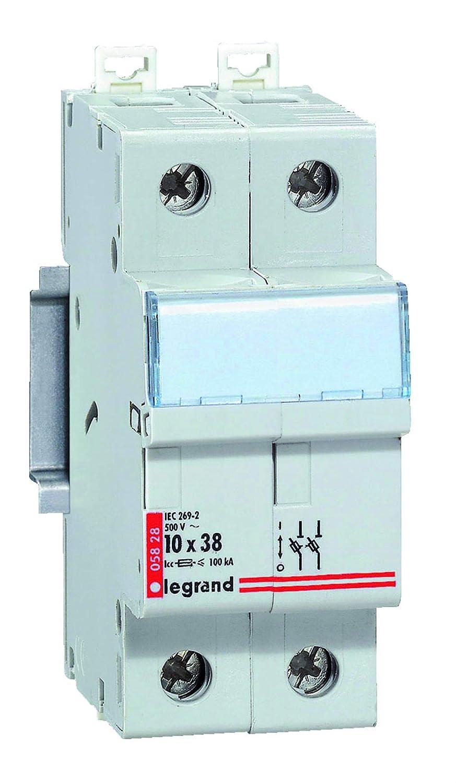 Legrand LEG05818 Coupe-circuit sectionneur 1p+n cartouche cylindrique industrielle 10 x 38 500 V~