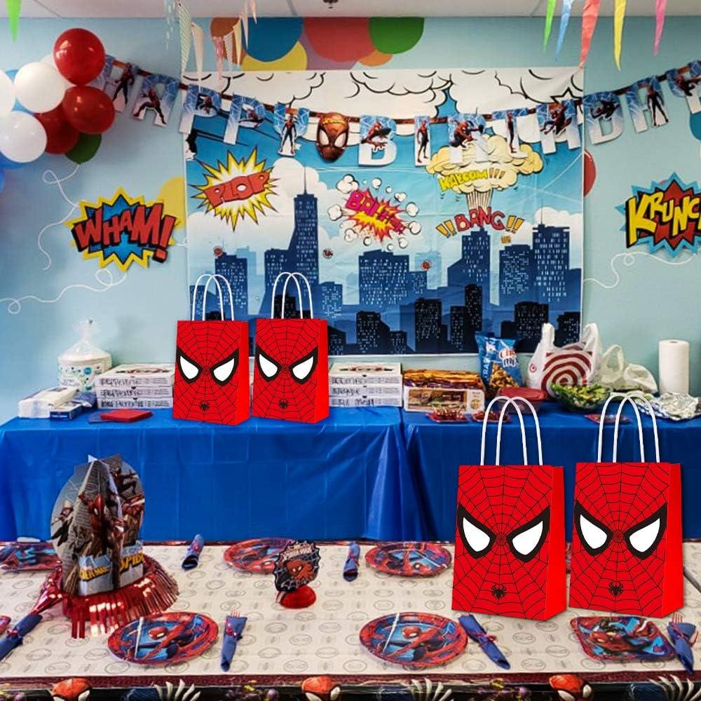 Amazon.com: Bolsas de fiesta para Spiderman, bolsas de ...