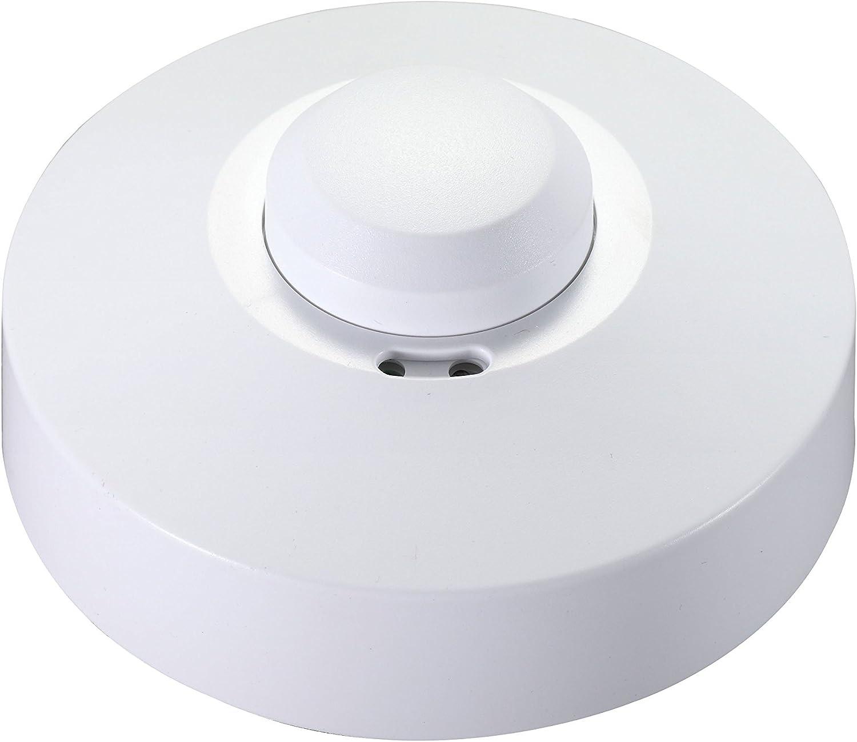 Garza Power - Detector de Movimiento Microondas de Techo, ángulo ...
