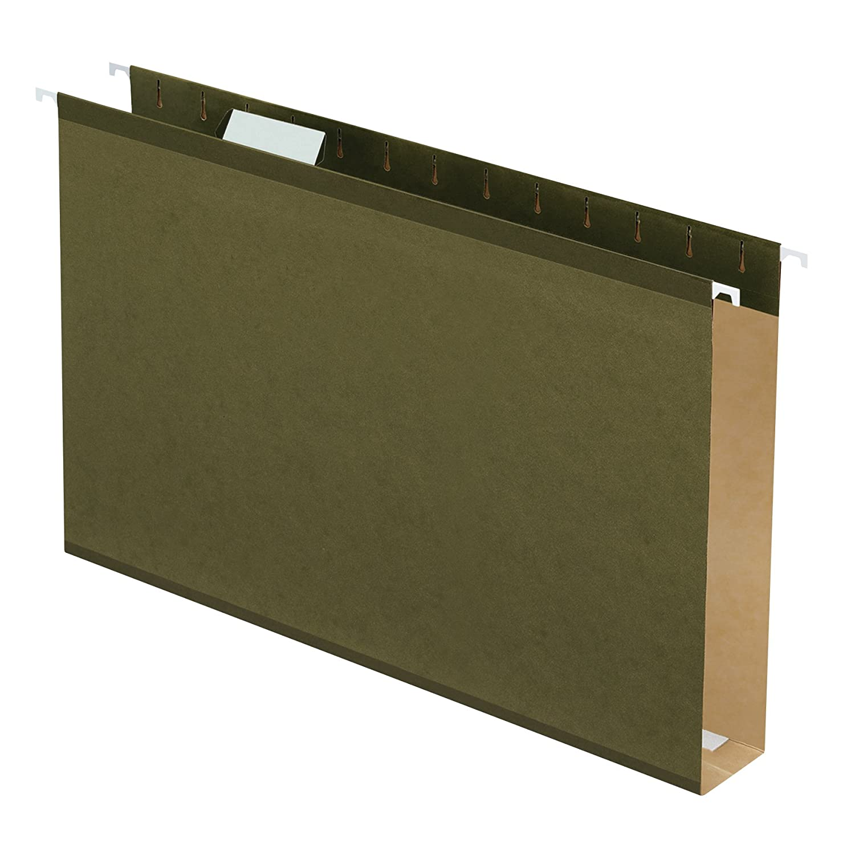 "B00006IEZ9 Pendaflex Extra Capacity Reinforced Hanging File Folders, 2"", Legal Size, Standard Green, 1/5 Cut, 25/BX (4153x2) 71bl5ATANDL"