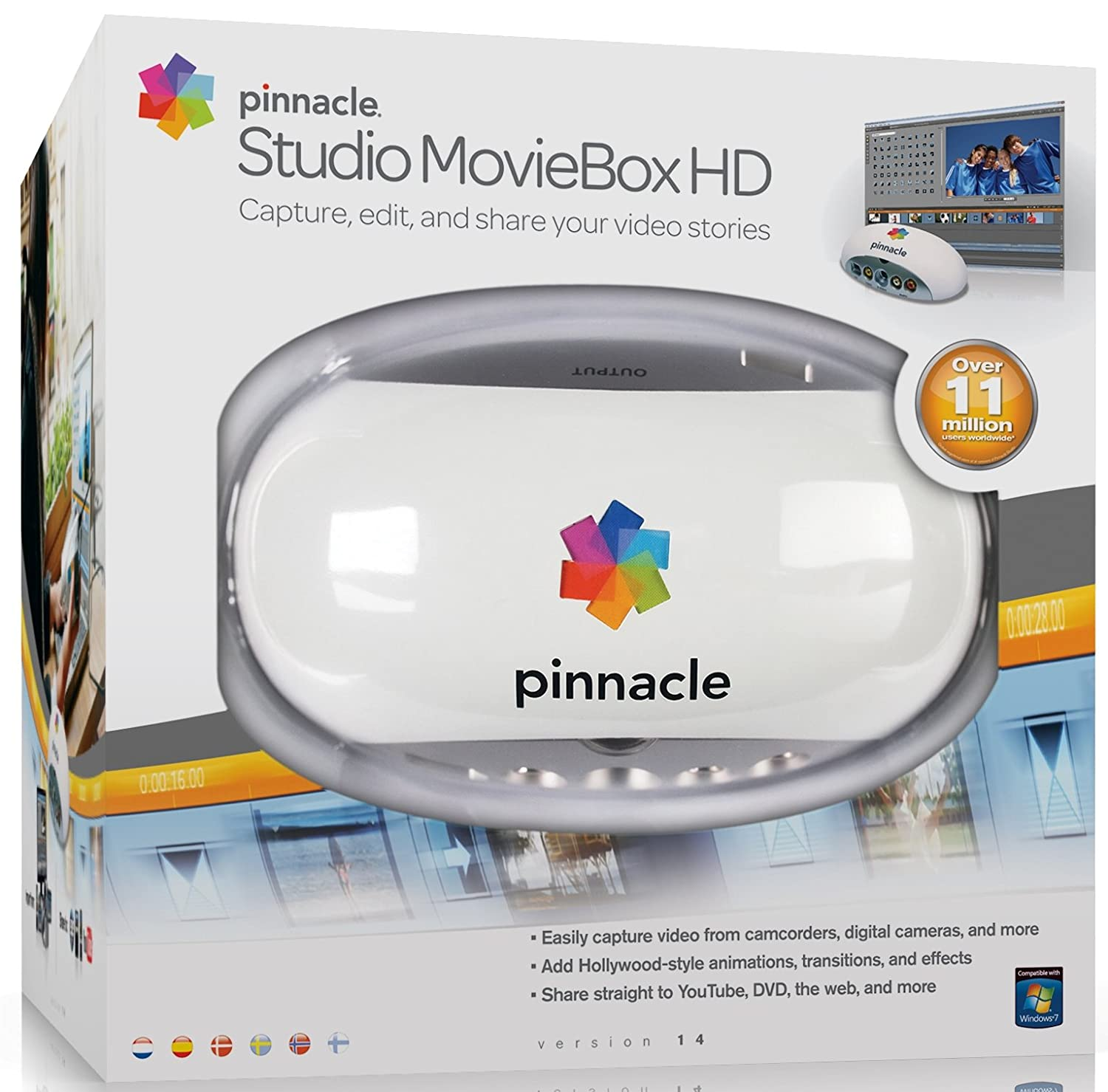 pinnacle studio moviebox 14 hd usb amazon de software