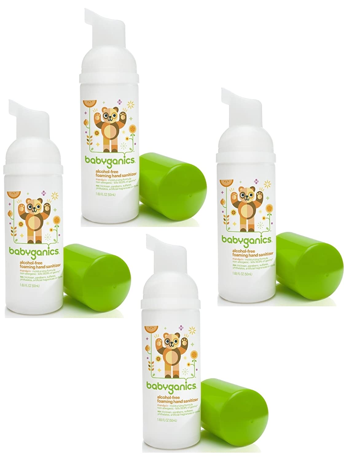 babyganics the germinator alcohol free foaming hand sanitizer