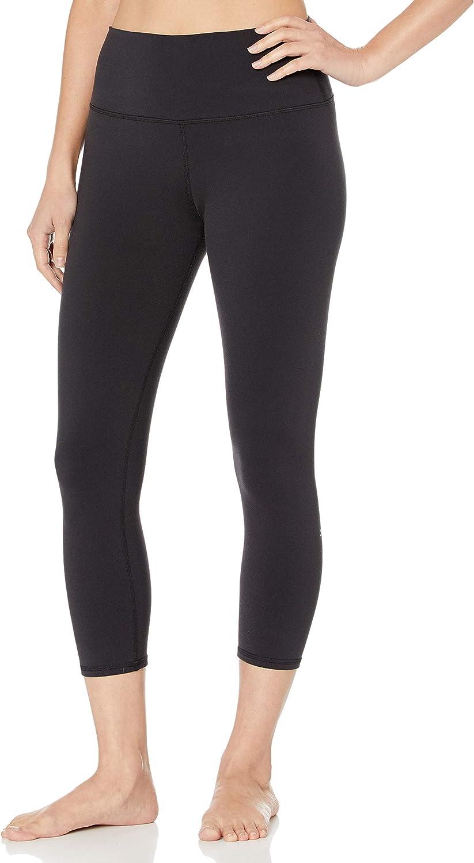 Alo Yoga Women's High Waist Airbrush Capri Legging: Clothing