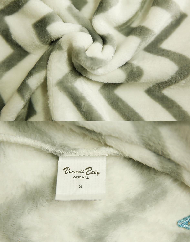 Vaenait Baby 1-7Y Super Soft Microfiber Fleece Kids Boys Wearable Blanket Sleeper Sleepsuit Sleeping Bag
