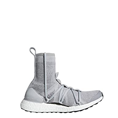 cac05ff07ca64 Image Unavailable. Image not available for. Color  Stella Mccartney  Ultraboost X Mid Womens Sneakers Grey