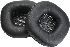 Yizhet 1 Par Reemplazo de Almohadillas de Auriculares Cojines para Oído Recambio Esponja Almohadillas Compatible con Auriculares Marshall Major II - Negro