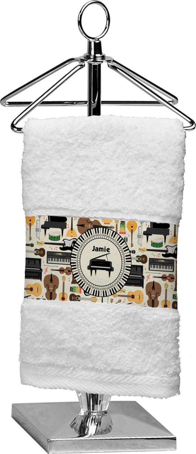 RNK Shops Musical Instruments Finger Tip Towel (Personalized)