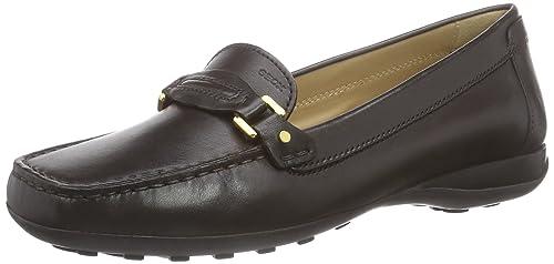Talla A Mocasines Amazon Y Zapatos Euro Geox Complementos 35 Cuero Mujer  Donna De Color es Marrón gHyxcpWUq 8a48b8a6740