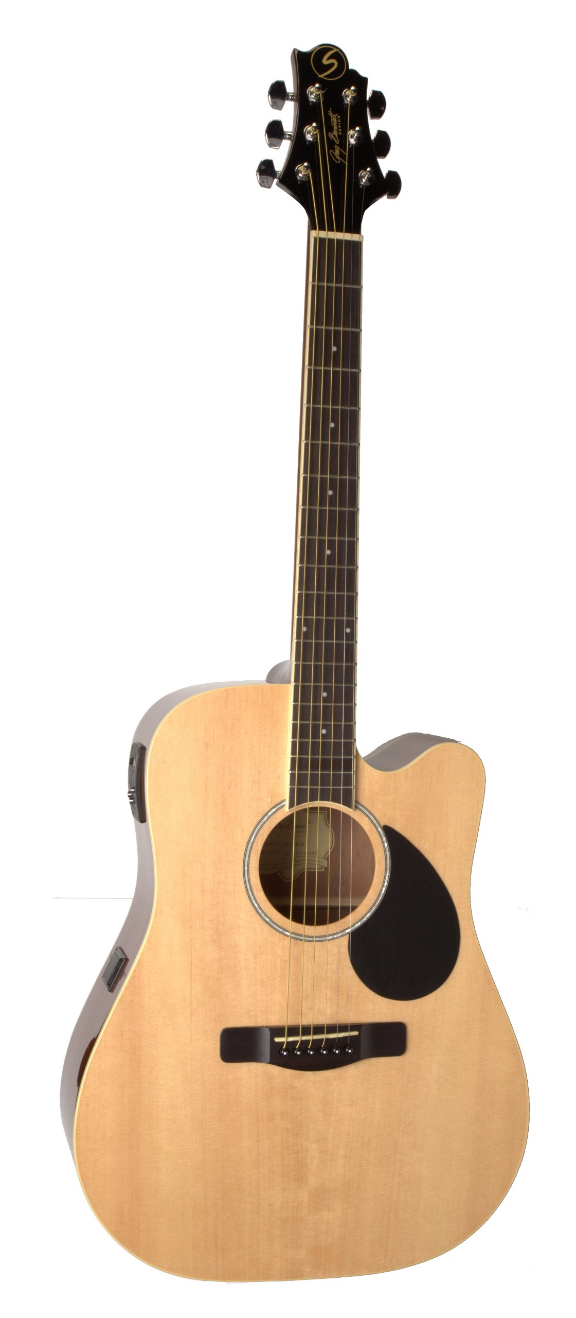 Samick Music Regency D2CE Dreadnought Acoustic-Electric Guitar, Natural by Samick