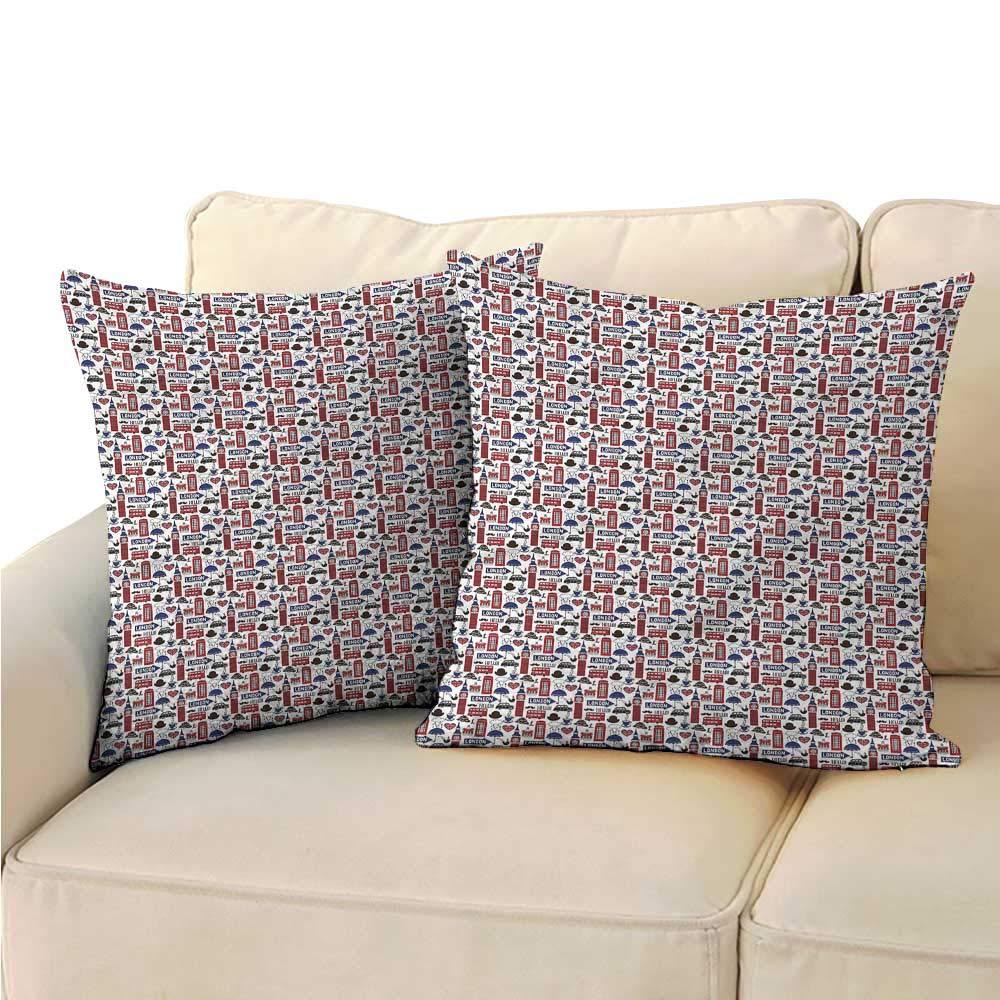 Amazon Com Decorative Pillowcase Throw Pillow London Uk