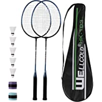 2-Player Durable Racquet Set AT100 FREE SHIP ADIBO Badminton Set