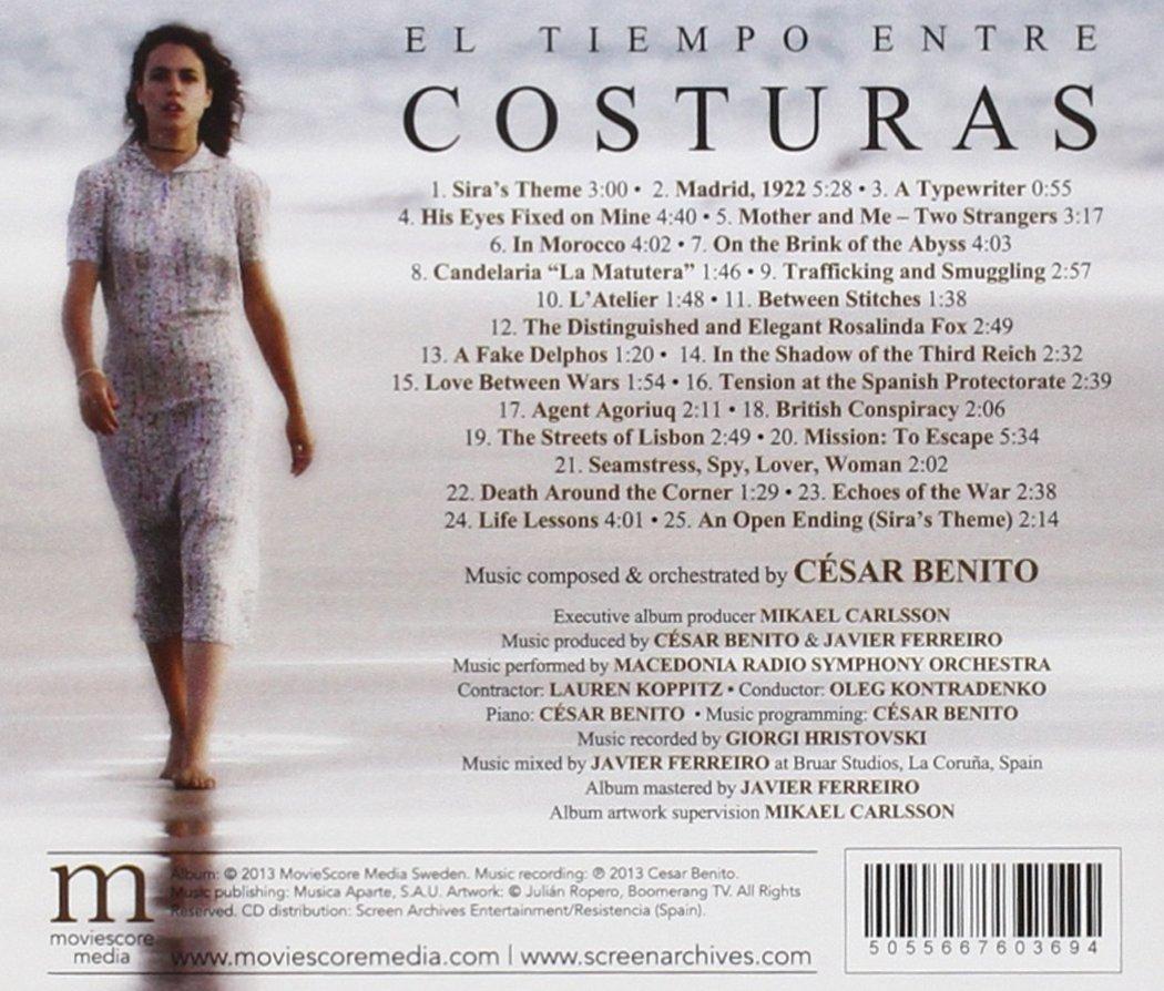 El Tiempo Entre Costuras : César Benito: Amazon.es: Música