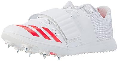 adidas Unisex Adults\u0027 Adizero Triple Jump/Pole Vault Track and Field Shoes,  White