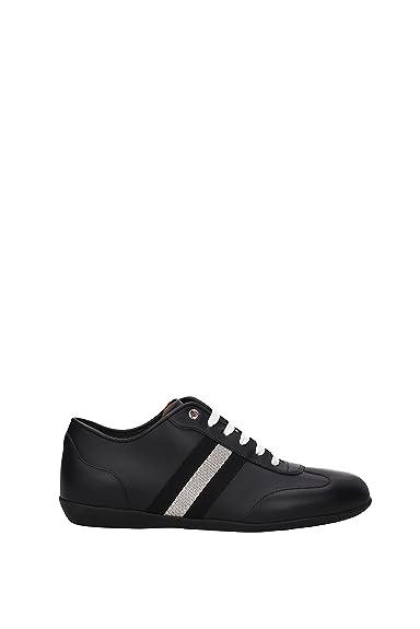 4ba5b0fe1a BALLY Sneakers harlam Herren - Leder (HARLAM6217452) 42 EU: Amazon ...