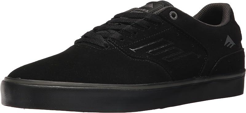 Emerica Reynolds Low Vulc Sneakers Damen Herren Unisex Schwarz/Grau