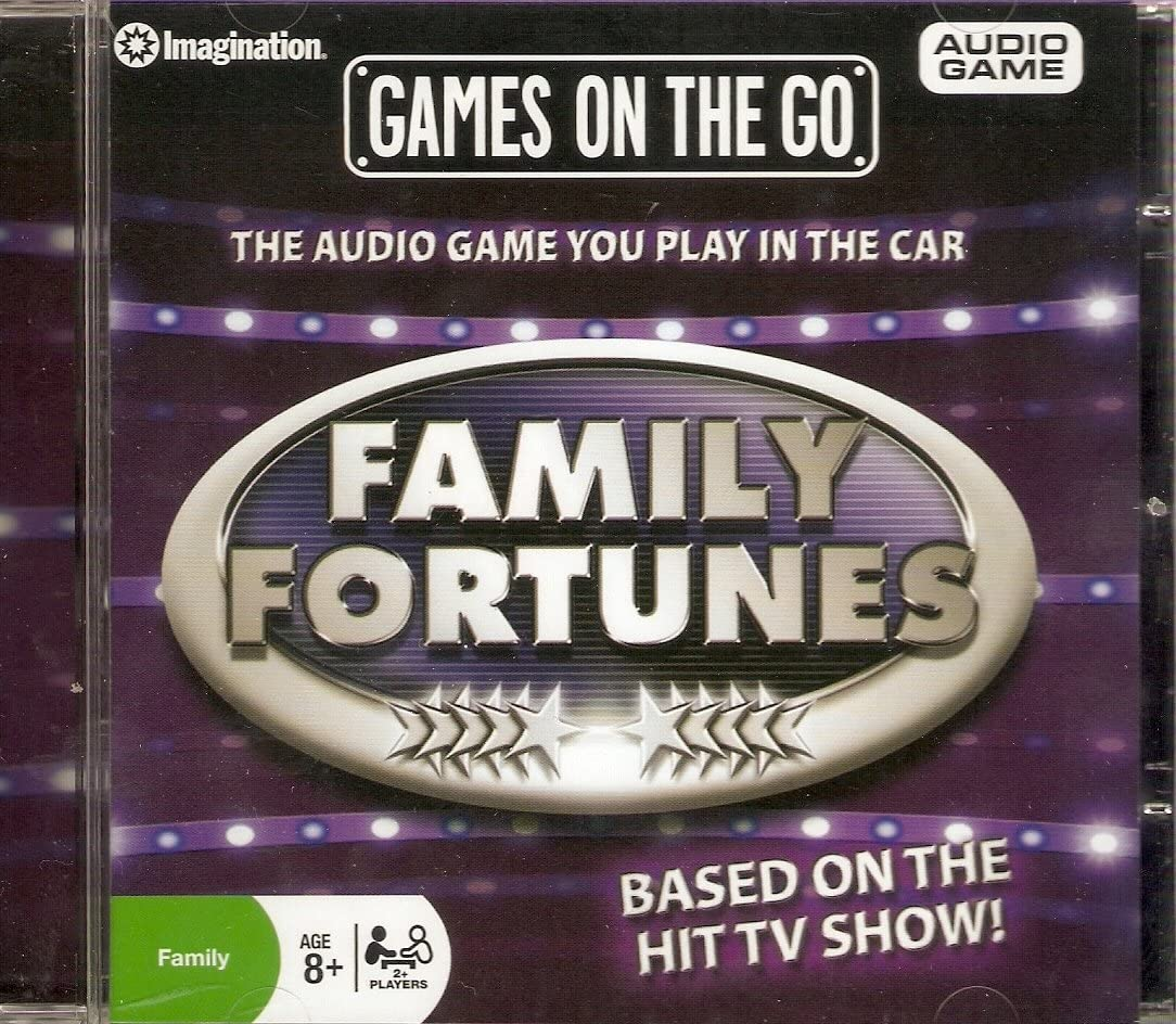 Family Fortunes Audio Game Ideal For Car Journeys Amazon Co Uk Toys Games