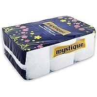 Mystique 2 Ply Toilet Tissue Paper Roll - 6 Rolls (246 Sheet Per Roll)