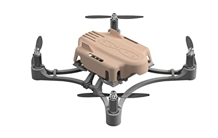 Pluto Programmable Crash Resistant DIY Quadcopter Smartphone Controlled  Nano-Drone with Rechargeable Battery (Desert Storm)