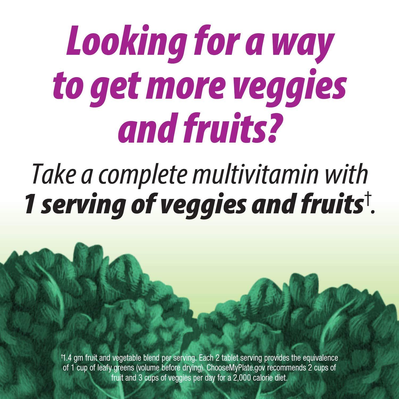 Nature's Way Alive! Garden Goodness Women's Multivitamin, Veggie & Fruit  Blend (1400mg per serving),