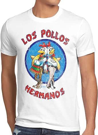 style3 Los Pollos Camiseta para Hombre T-Shirt: Amazon.es: Ropa y accesorios