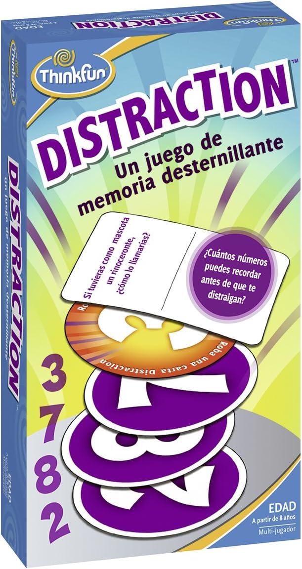 Think Fun- Distraction Juego de Habilidad, Multicolor (Ravensburger 76323): Amazon.es: Juguetes y juegos