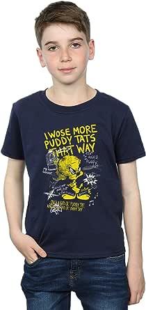 Looney Tunes Jungen Tweety Pie More Puddy Tats T-Shirt