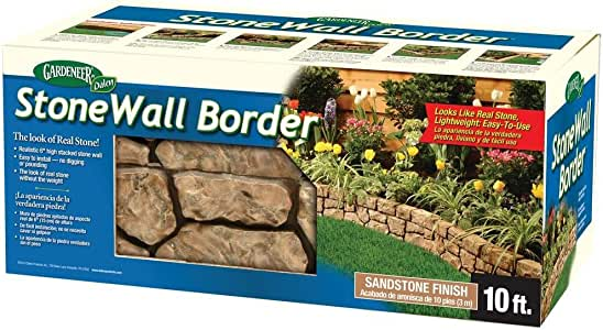 Dalen Gardeneer Stonewall Border - Tan, 10 ft.