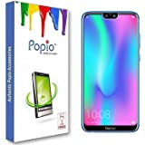 POPIO Tempered Glass Screen Protector For Honor 9N (9i) (Transparent) Full Screen Coverage (Except Edges) With Easy Installation Kit