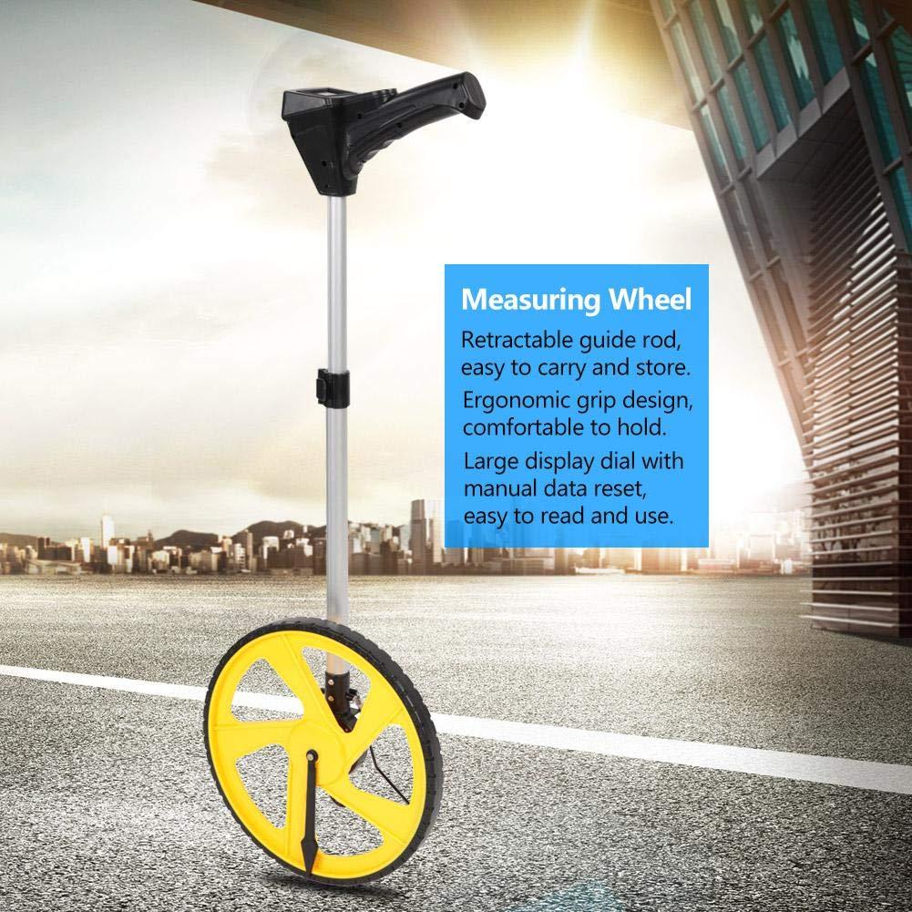 Medidores topogr/áficos Constructores Carretera con una Bolsa de Transporte Rueda de medici/ón de Distancia Digital de Wocume
