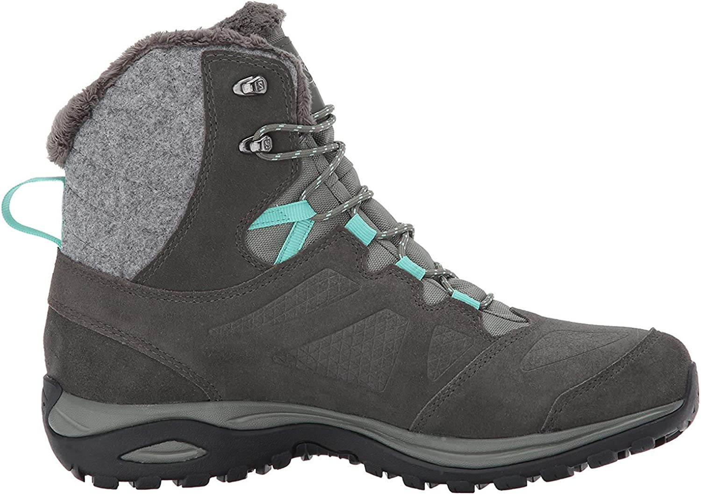 SALOMON Herren Ellipse Winter GTX Trekking-& Wanderhalbschuhe, braun Grau Castor Gray Beluga Biscay Green 550