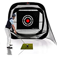 Galileo Golf Nets Golf Training Aids Hitting Net Portable Driving Range Golf Practice Net Cage for Backyard Driving Indoor Use with Target