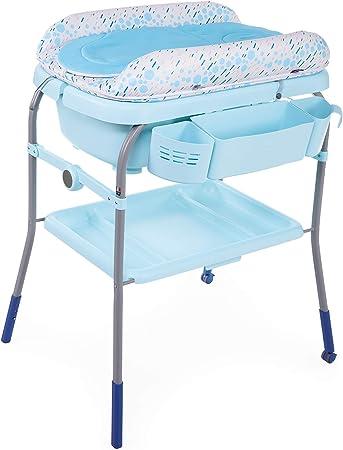 Oferta amazon: Chicco Cuddle&Bubble - Bañera y cambiador 2 en 1, plegable y compacta, peso 10 kg, color azul (Ocean)