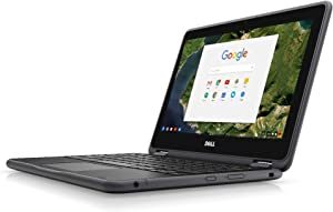 "Dell Chromebook 3189 Intel Celeron N3060 X2 2.48GHz 4GB 32GB 11.6"" Touch, Black"