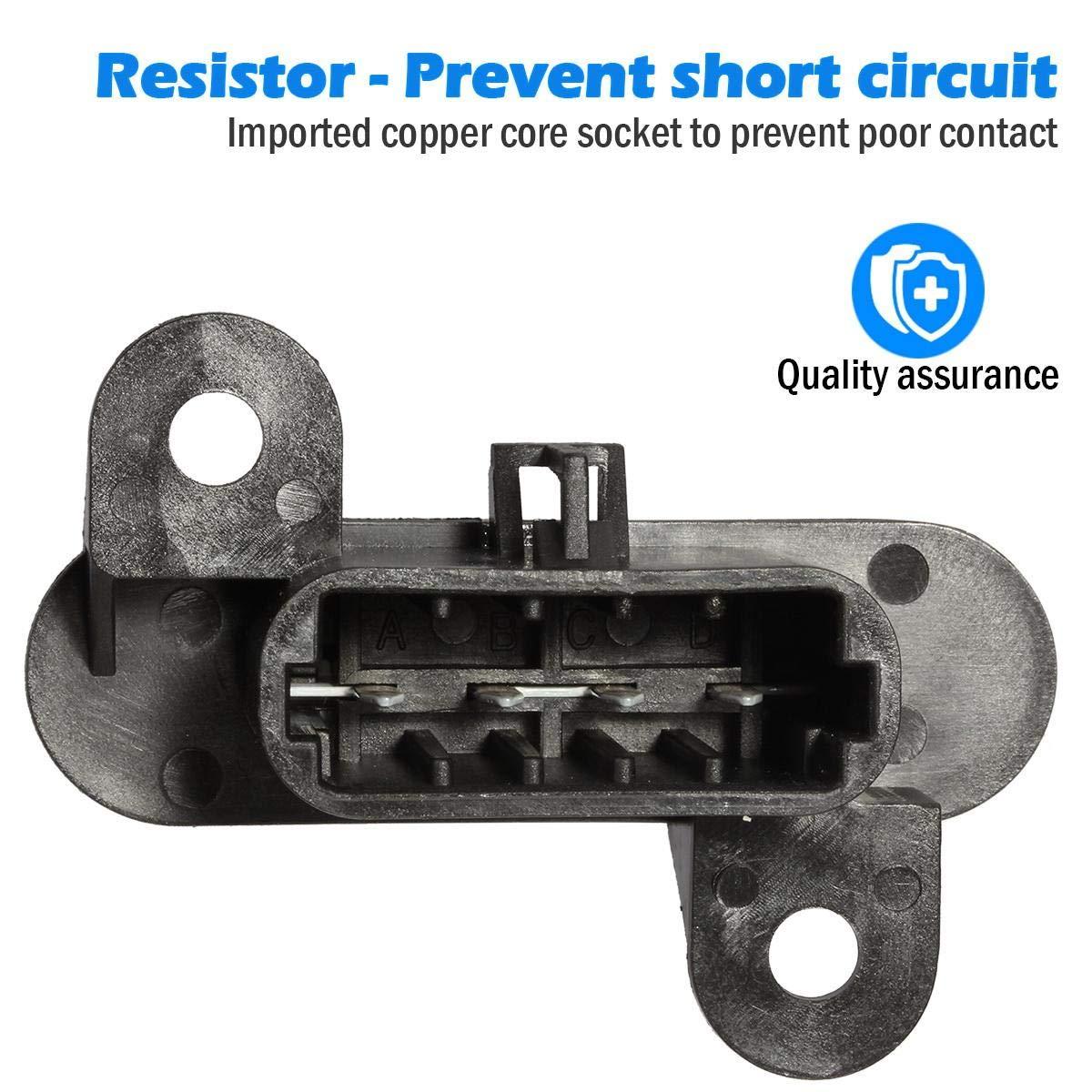 AUTEX Manual HVAC Blower Motor Resistor RU464 10398065 1580577 ...