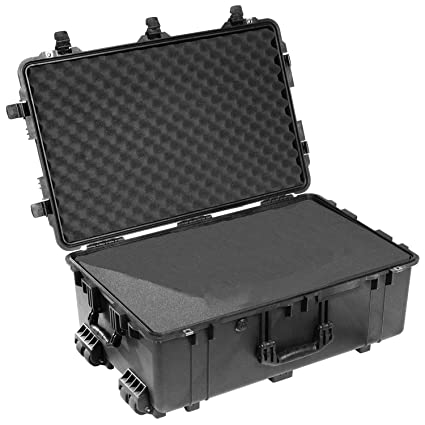 4984d94951d Amazon.com   Pelican 1650 Case With Foam (Black)   Diving Dry Boxes    Camera   Photo