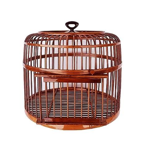 Xinxinchaoshi Jaula de pájaros Hecho a Mano Interior y Exterior ...