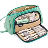 EASTHILL Large Capacity Pencil Case Pen Bag Pouch Holder Multi-slot School Supplies For Middle High School Office College Tee