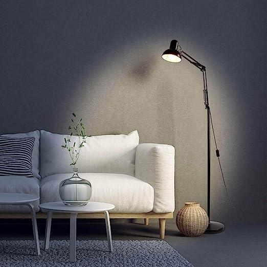 Citra Reading Floor Lamp, Energy Saving, Full Spectrum Standing Light with Adjustable Gooseneck for Living Room Bedroom Office Task Standing Lights at amazon