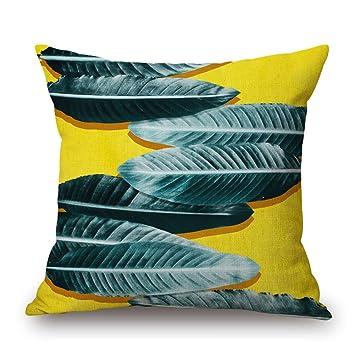Amazon.com: JES&MEDIS Spring Green Plant Series - Funda de ...