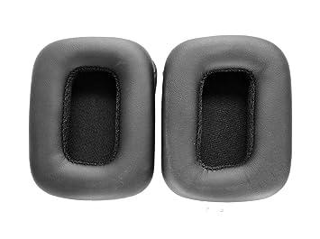 Oído reemplazo Pad almohadillas cojín de piel Reparación Piezas para Mad Catz Tritton Kunai auriculares inalámbricos
