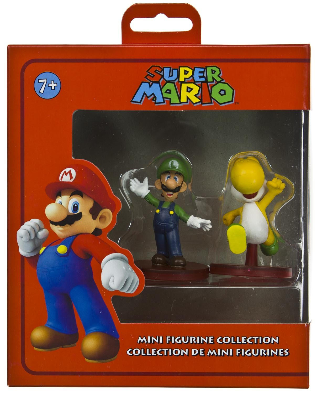 ~1.8 : Super Mario Dual Mini-Figurine Collection Series Banpresto 208 ~2 Luigi /& Yellow Yoshi