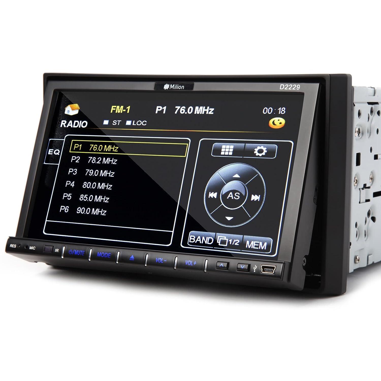 71blRUNTznL._SL1500_ amazon com milion 7 inch double din in dash car head unit monitor  at crackthecode.co
